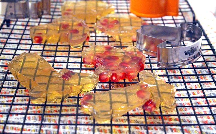 Gelatin for Gut Healing and a Pomegranate Homemade JELL-O Jiggler Recipe www.sarahkayhoffman.com