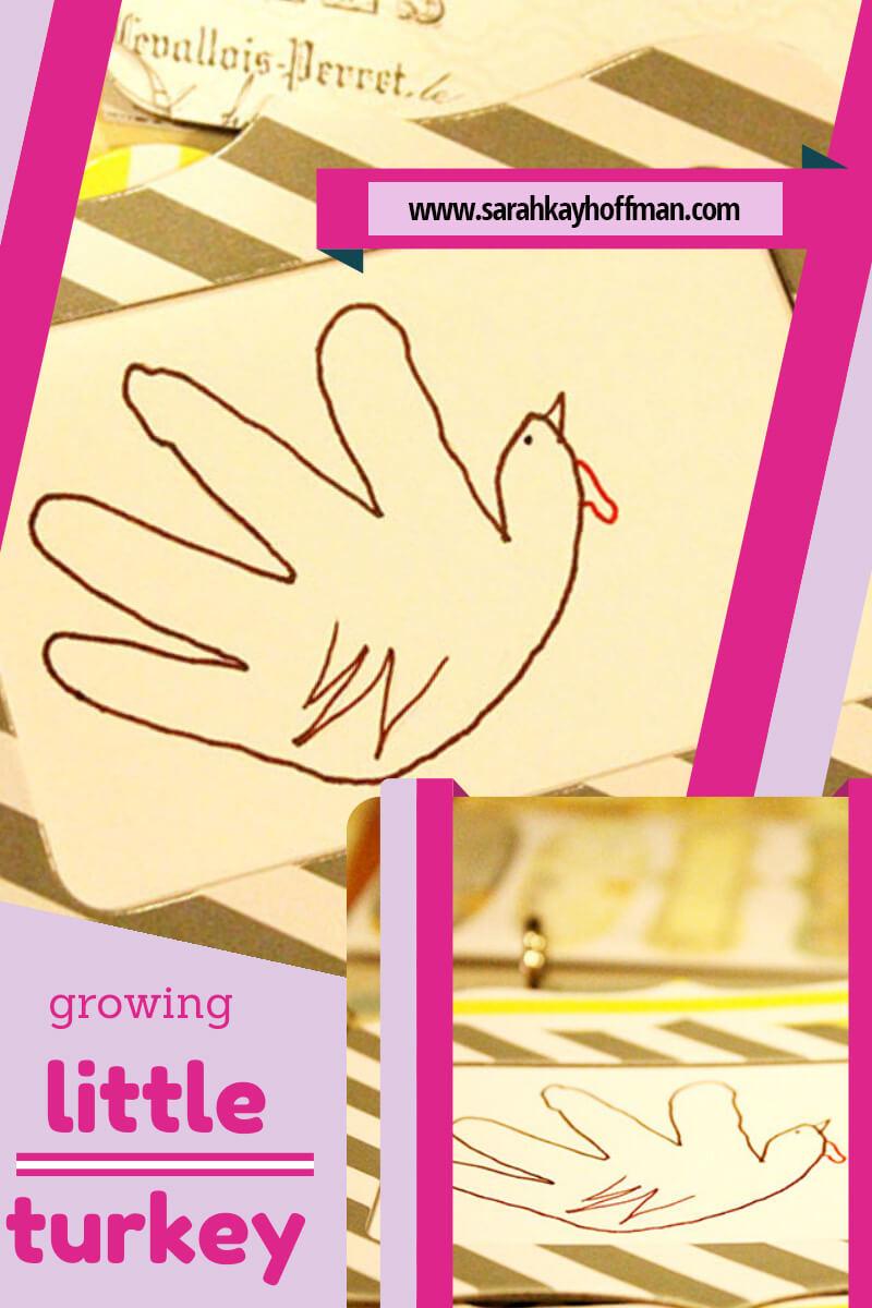 Turkey Handprints sarahkayhoffman.com