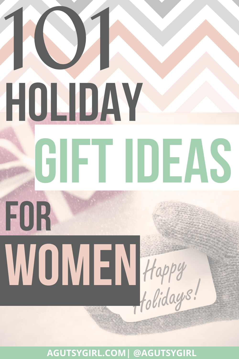 101 Holiday Gifts for Women agutsygirl.com #holidaygiftsforher #holidaygifts #giftsforwomen