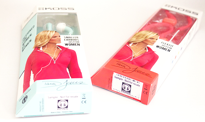 10 Must-Have Fitness Gear Essentials for 2014 www.agutsygirl.com #fitness Koss Fit Series