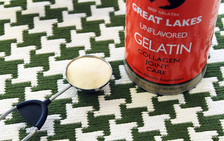 Great Lakes Gelatin. For Gut Healing. How to Drink More Green Tea via www.agutsygirl.com