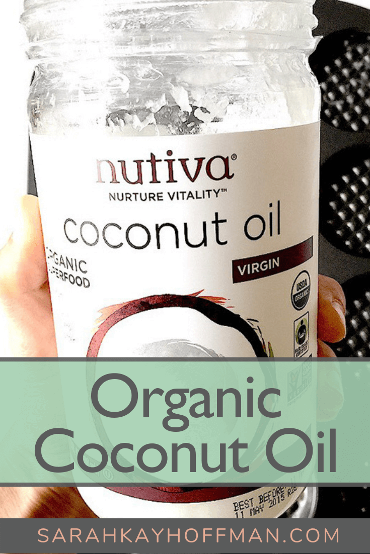 Organic Coconut Oil www.sarahkayhoffman.com #organic #healthyliving #coconutoil #guthealth