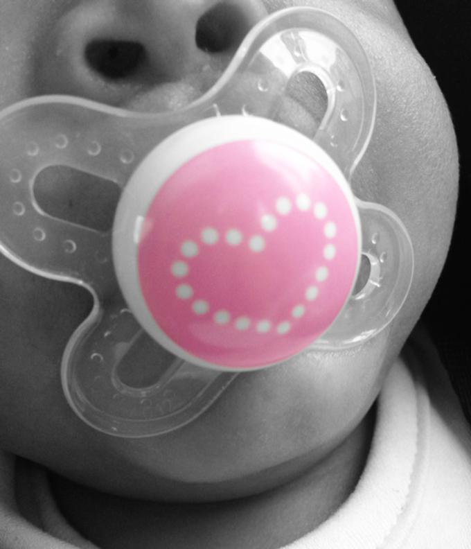 #AllHeart. The Little Legume. Pacifier. via www.agutsygirl.com