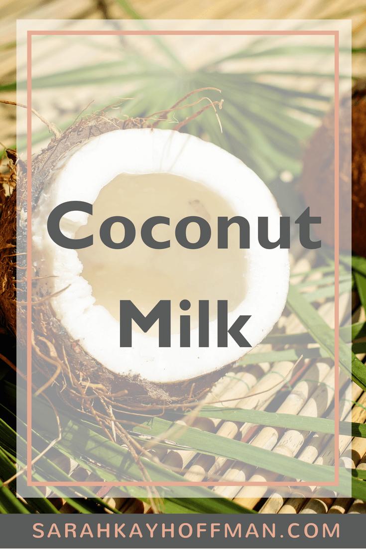 Coconut Milk www.sarahkayhoffman.com brands I recommend #dairyfree #coconutmilk #coconut