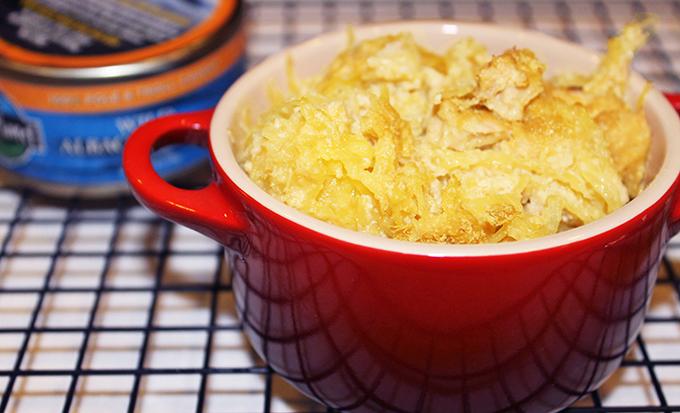 Final Cheesy Tuna Casserole (gluten, grain and dairy free) via www.agutsygirl.com