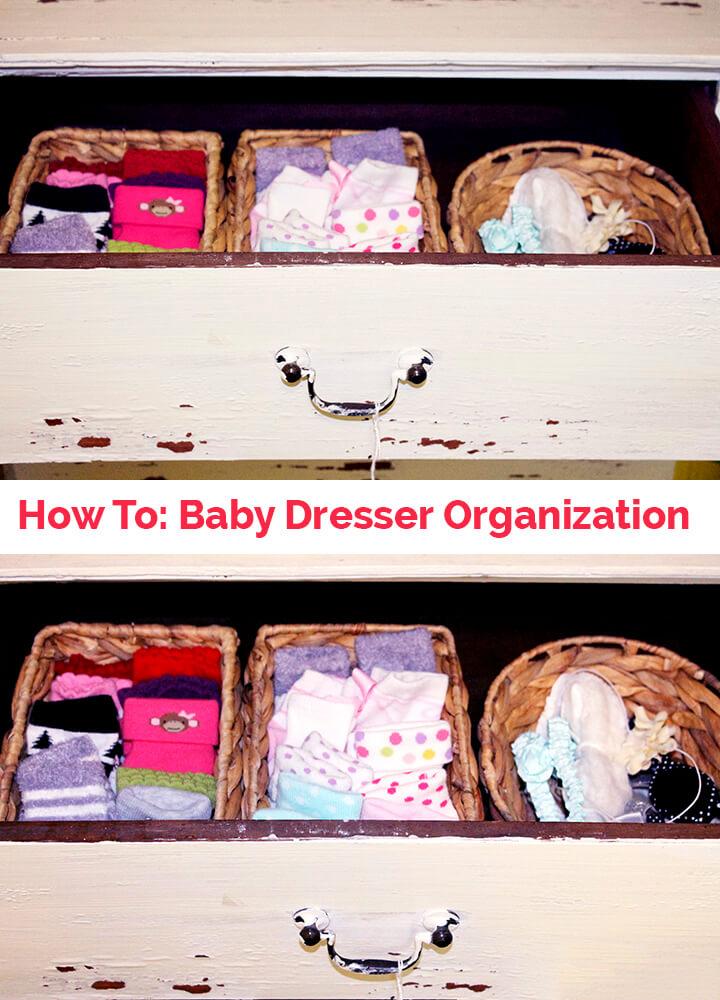 How to Organize Baby Clothes sarahkayhoffman.com