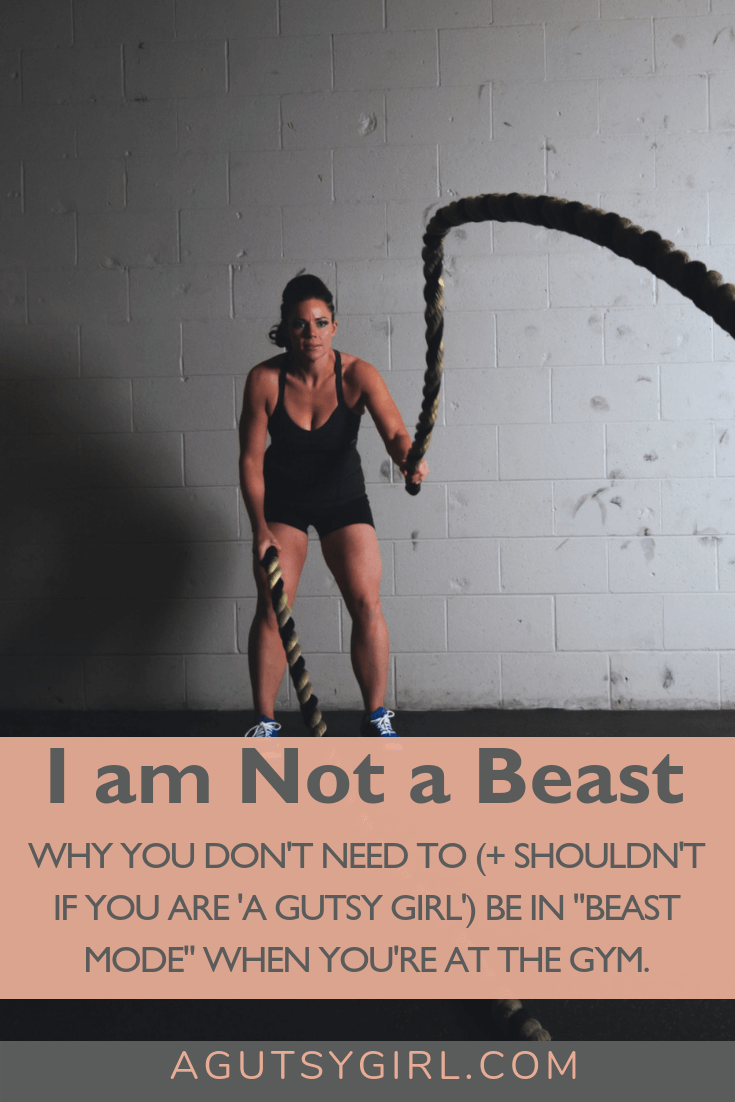 I Am Not a Beast www.agutsygirl.com #crossfit #guthealth #healthyliving #fitness