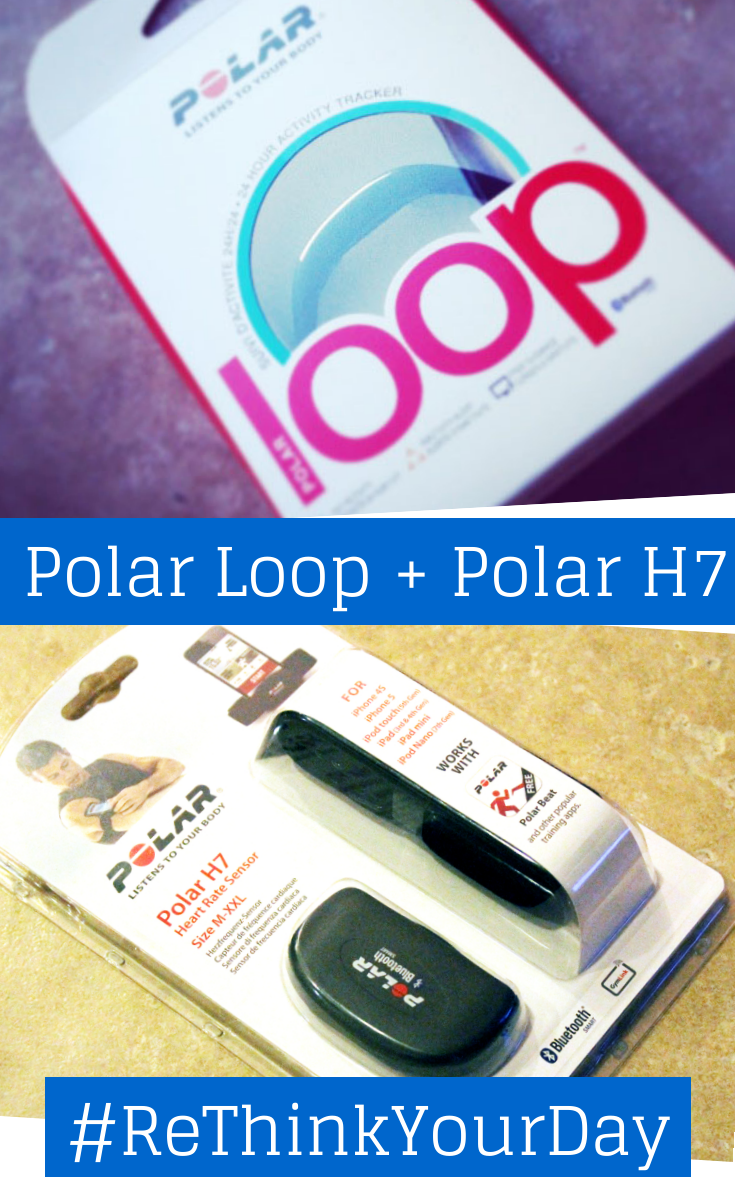 Polar Loop + Polar H7 #ReThinkYourDay