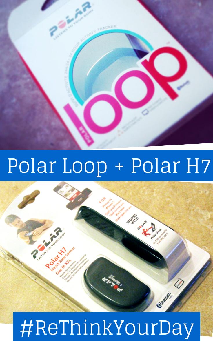 Polar Loop + Polar H7 #ReThinkYourDay