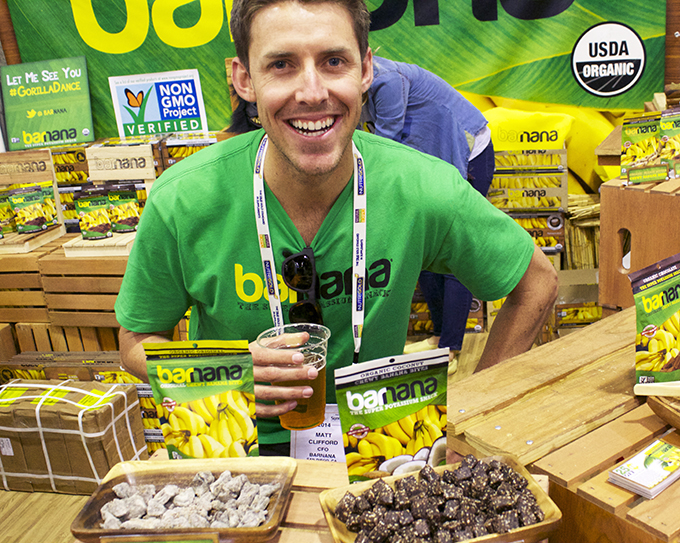 Barnana founder #ExpoWest review via www.agutsygirl.com