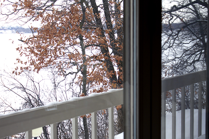 Butterflies in My Stomach. Minnesota winter. Slowing down back home www.agutsygirl.com