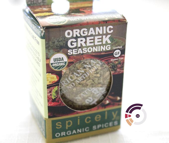 Certified Gutsy Spicely Organics Organic Greek Seasoning via www.sarahkayhoffman.com #CG