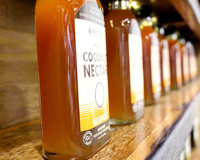 Coconut Nectar, Blonde. Big Tree Farms Coconut Nectar Blonde Review from Expo West 2014 via www.agutsygirl.com