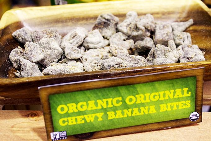 #Organic Original Chewy #Banana Bites Barnana #ExpoWest review via www.agutsygirl.com