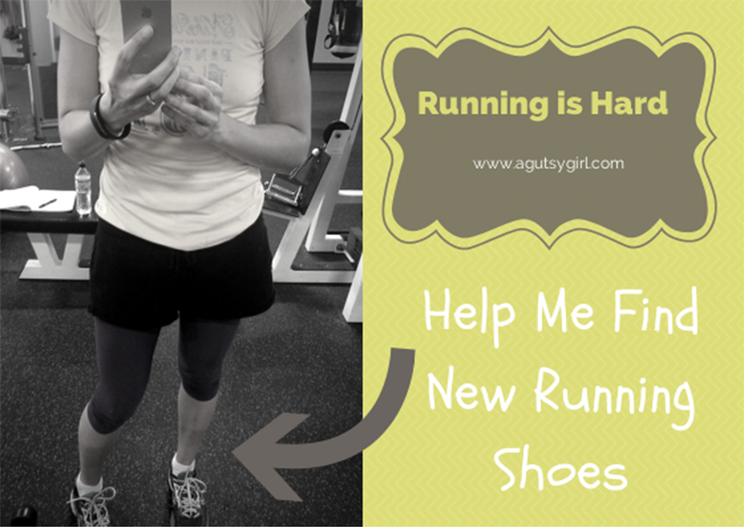 Running is Hard. Help me find new #Running shoes. via www.agutsygirl.com