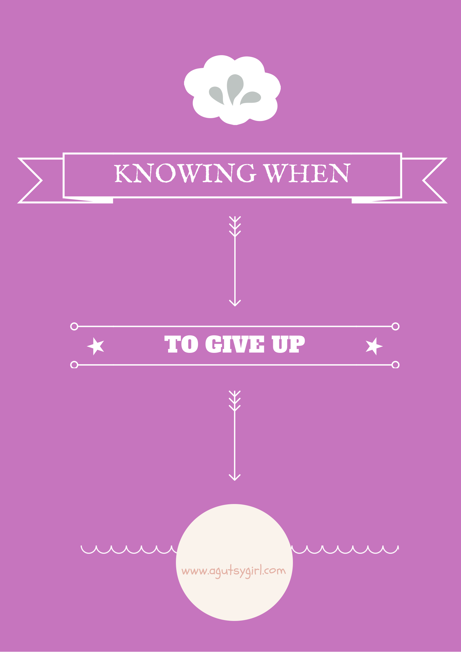 Knowing When to Give Up via www.agutsygirl.com #running #workouts #ibs #ibd