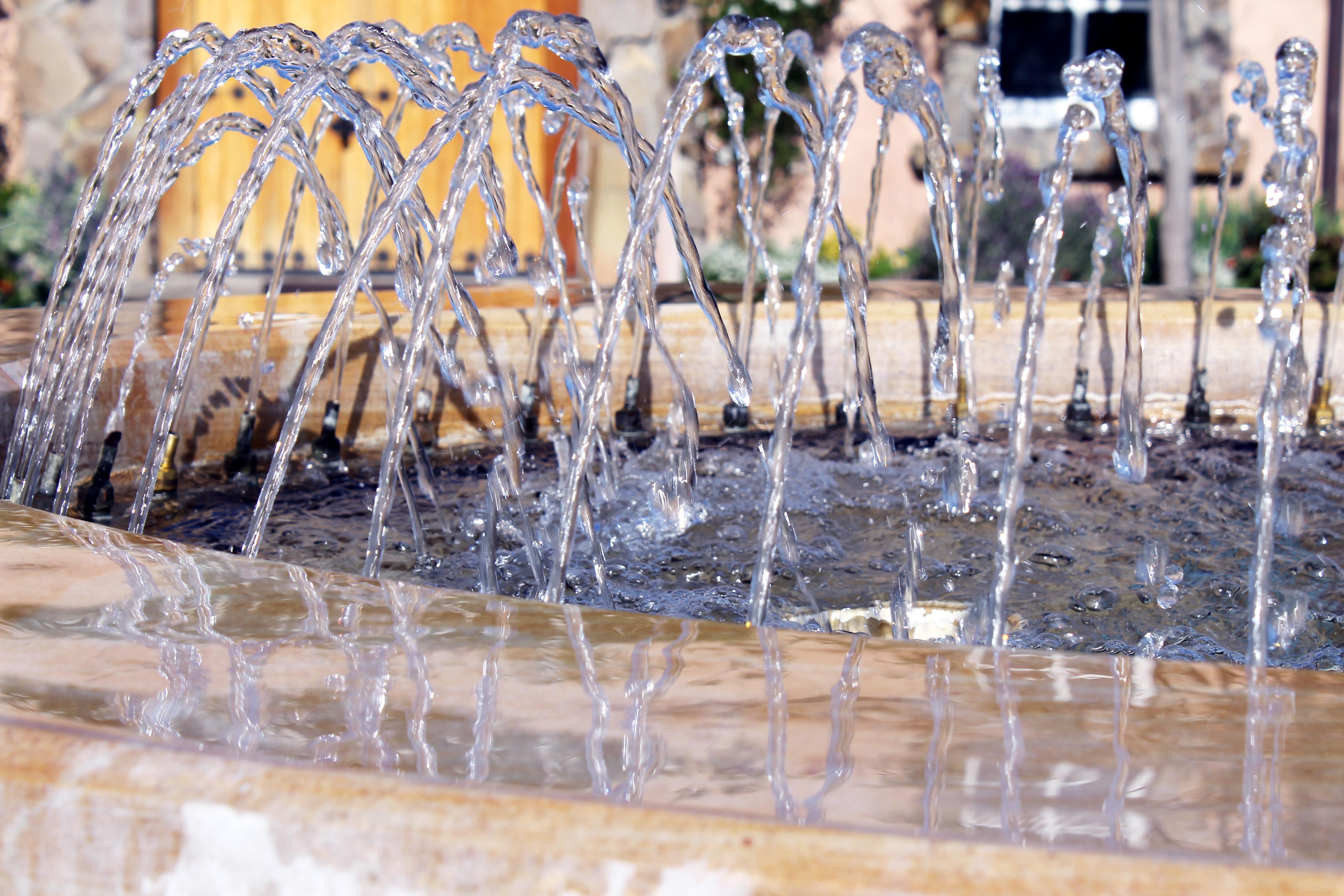 Water fountain. A Beautiful Chaos via www.agutsygirl.com #Adoption