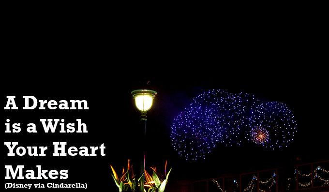 A Dream is a Wish Your Heart Makes Disneyland via www.agutsygirl.com