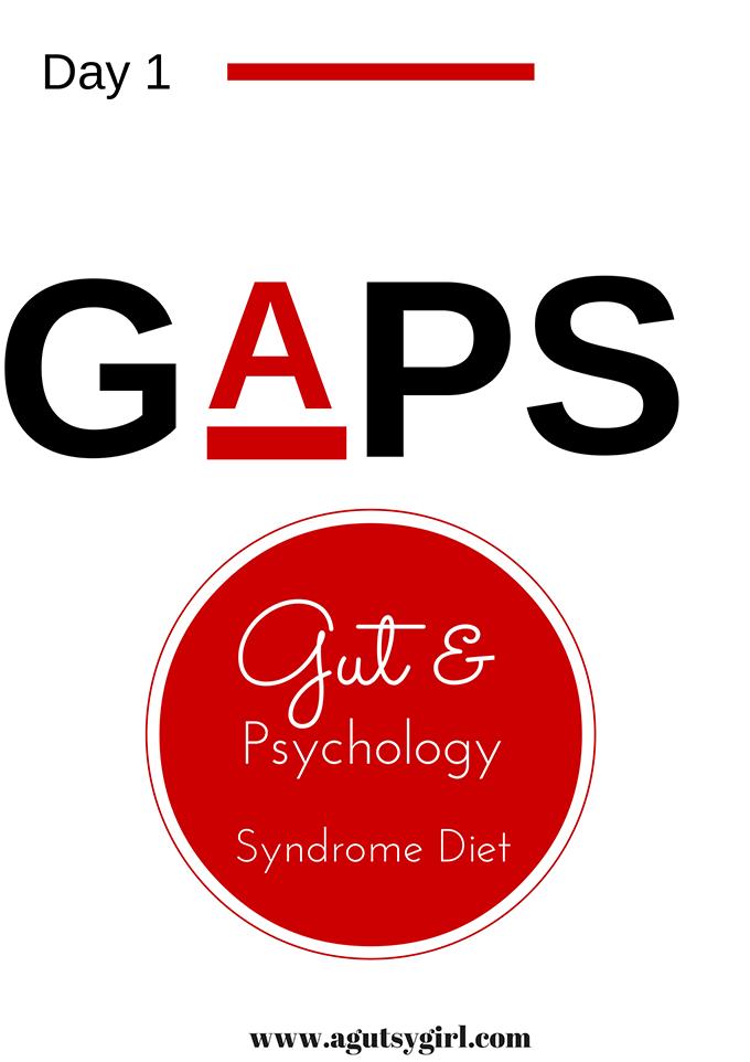 GAPS Diet Day 1 www.agutsygirl.com