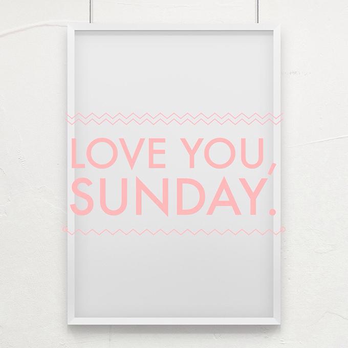 Love you, Sunday! www.agutsygirl.com
