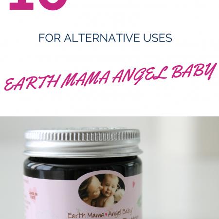 10 Resources for alternative uses Earth Mama Angel Baby via www.agutsygirl.com