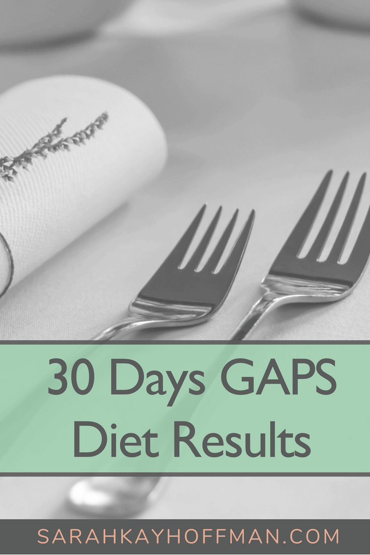 30 Days GAPS Diet Left Me Scared but Hopeful www.sarahkayhoffman.com #gapsdiet #paleo #guthealth #guthealing