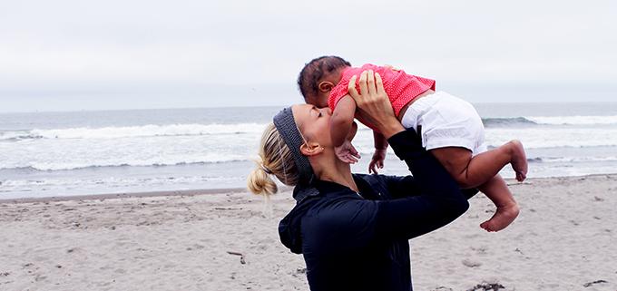 Samarah and Mama at the beach_7282014