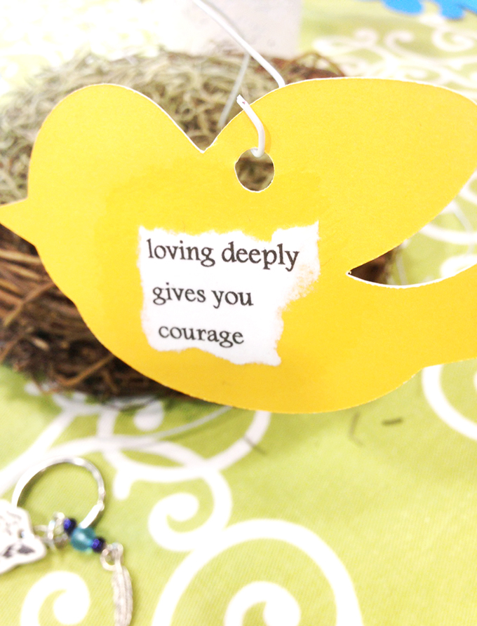 Loving deeply gives you courage www.agutsygirl.com MOPS