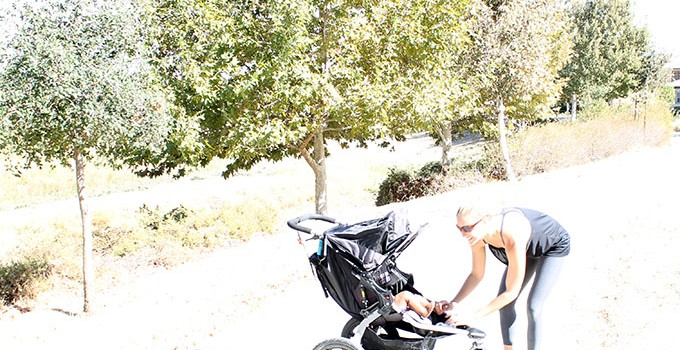 Style Haul Target® C9 activewear Collection with a 45-Minute Stroller Workout