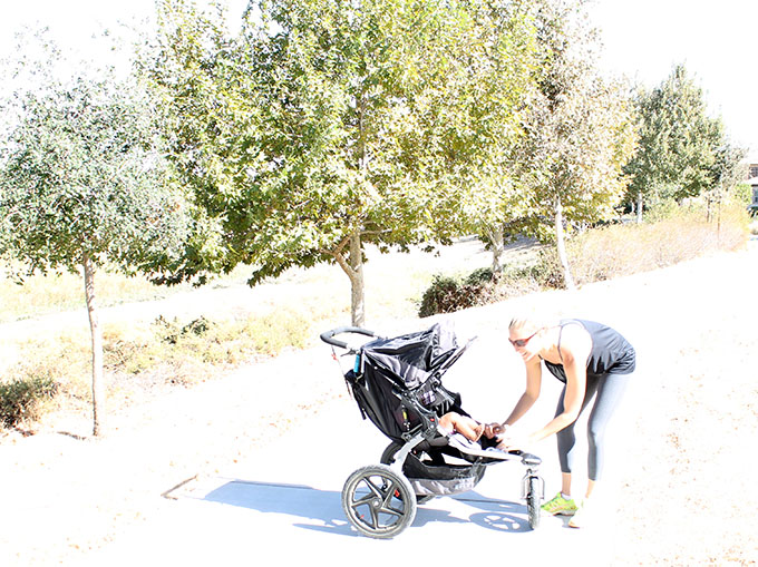 A Gutsy Baby. Style Haul Target® C9 activewear Collection with a 45-Minute Stroller Workout www.agutsygirl.com