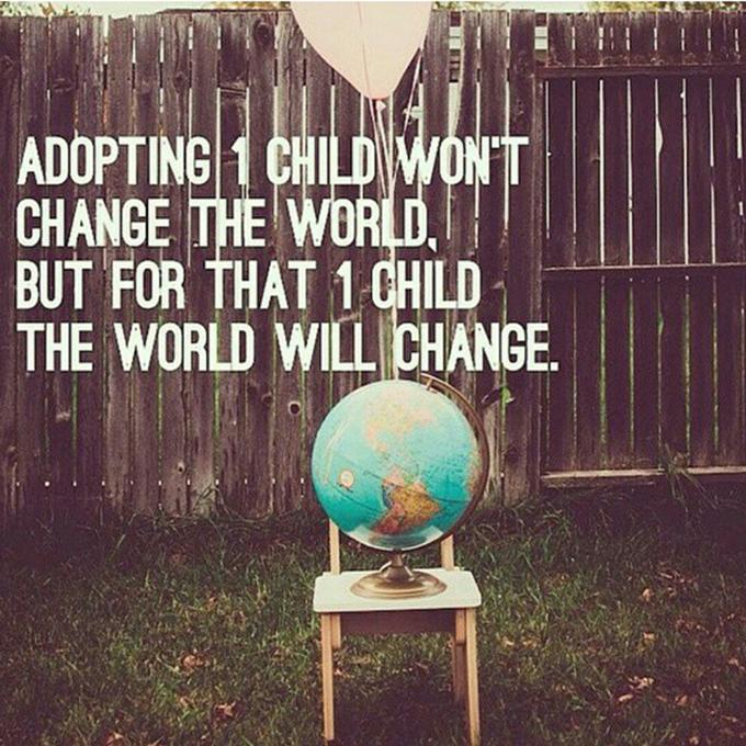 Adopting 1 Child yougottabelieve.org sarahkayhoffman.com
