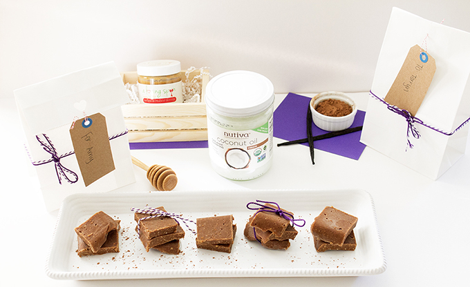 Honey Vanilla Bourbon Peanut Butter Fudge www.sarahkayhoffman.om A Loving Spoon nut butterTotal Setup