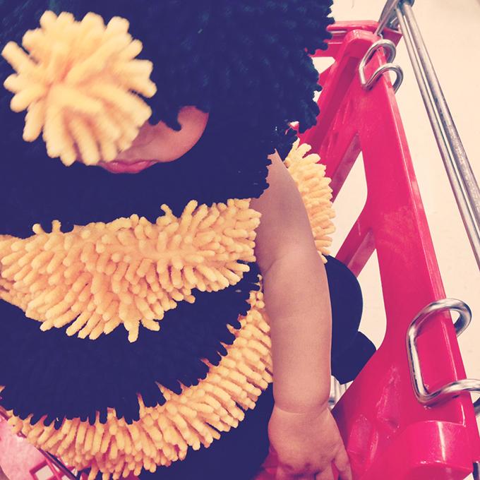 Samarah Honeybee Costume Halloween 2014 www.sarahkayhoffman.com