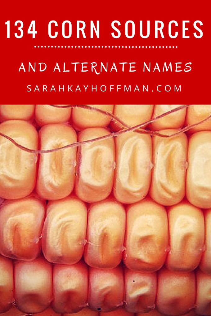 134 Corn Sources and Alternate Names sarahkayhoffman.com