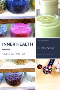 INNER HEALTH, outer shine january healthy sarahkayhoffman.com