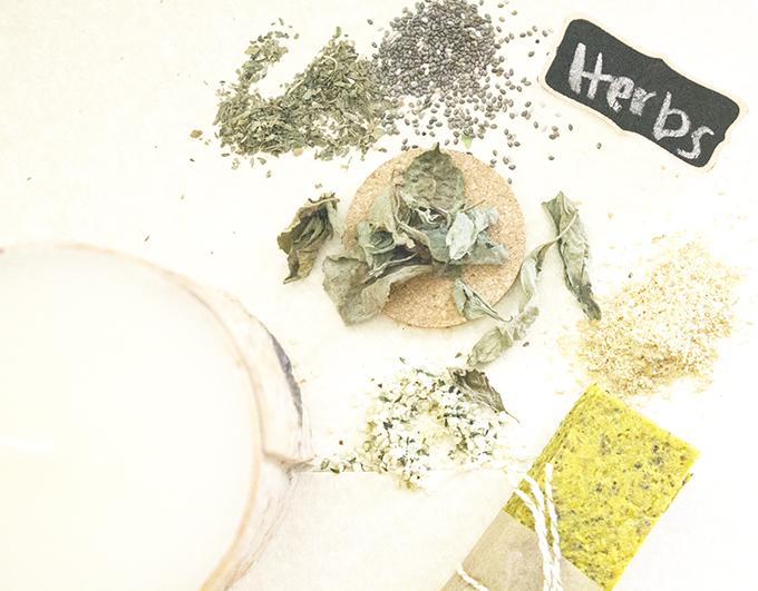 Stack + Herbs. Savory Hempseed Flatbread sarahkayhoffman.com Recipe nutiva.com