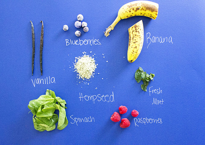 sarahkayhoffman.com Berry-licious Hemp Smoothie for 2 Ingredients with Words nutiva.com