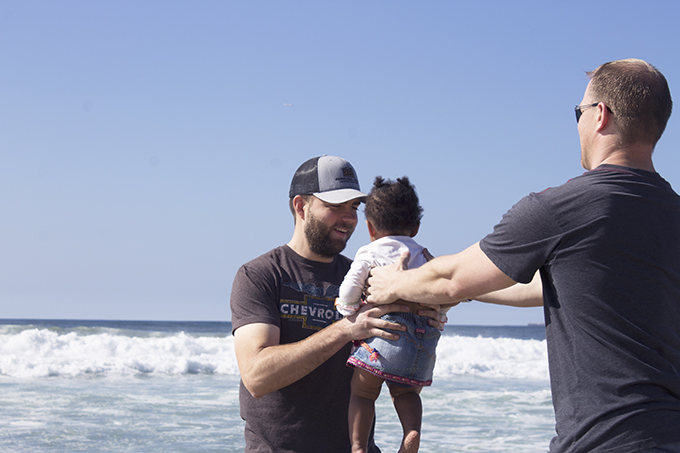 JJ, Ryan, Samarah Manhattan Beach. Two Steps Forward, Zero Backwards. Adoption. sarahkayhoffman.com