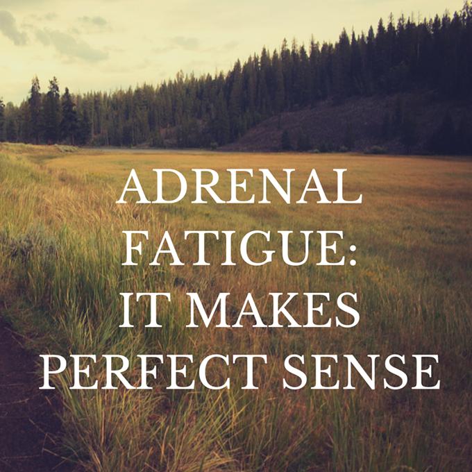 Adrenal Fatigue, it makes perfect sense sarahkayhoffman.com