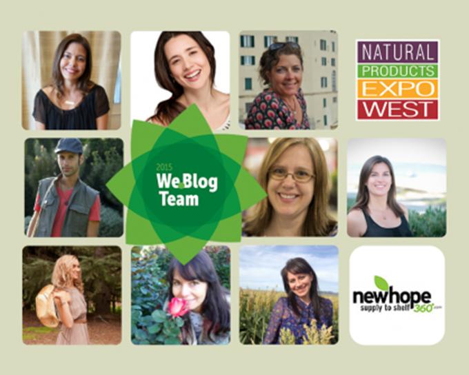Natural Expo West We Blog Blogger Team 2015 sarahkayhoffman.com