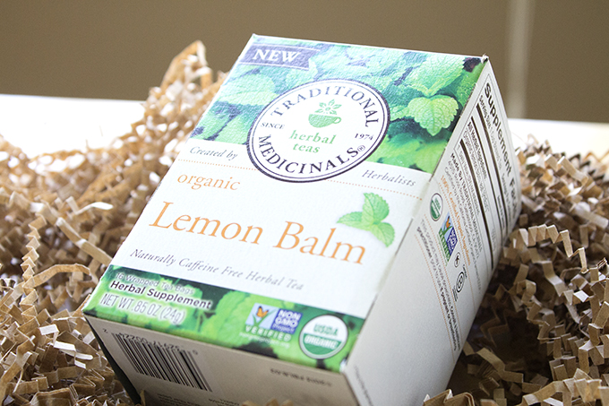 Traditional Medicinals Lemon Balm Tea sarahkayhoffman.com