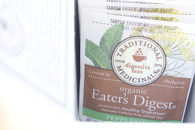 Traditional Medicinals Organic Eater's Digest Peppermint sarahkayhoffman.com