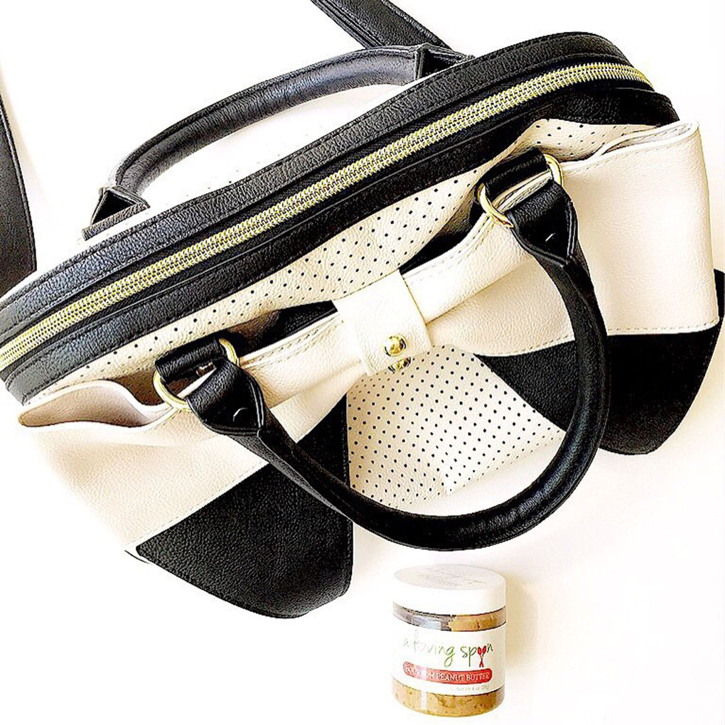 Catching up over bone broth a loving spoon nut butter travel size purse sarahkayhoffman.com