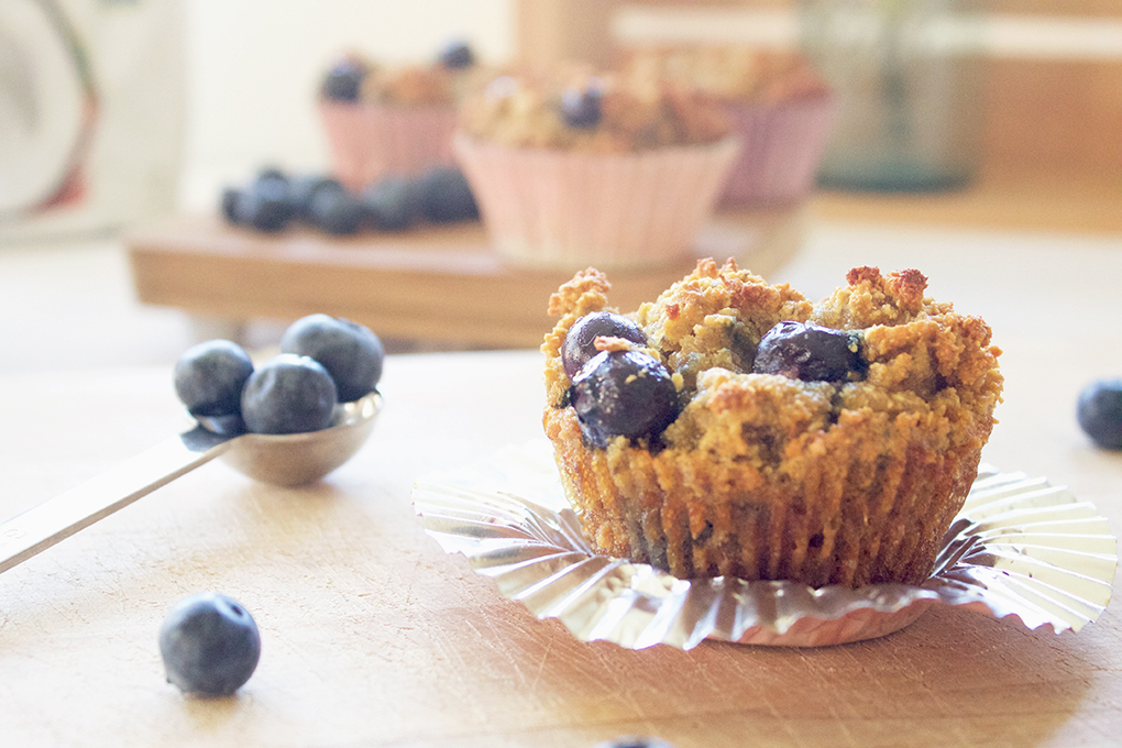 Nutiva Coconut Blueberry Muffins. Farmers Market Blueberries. New Lease on Life sarahkayhoffman.com