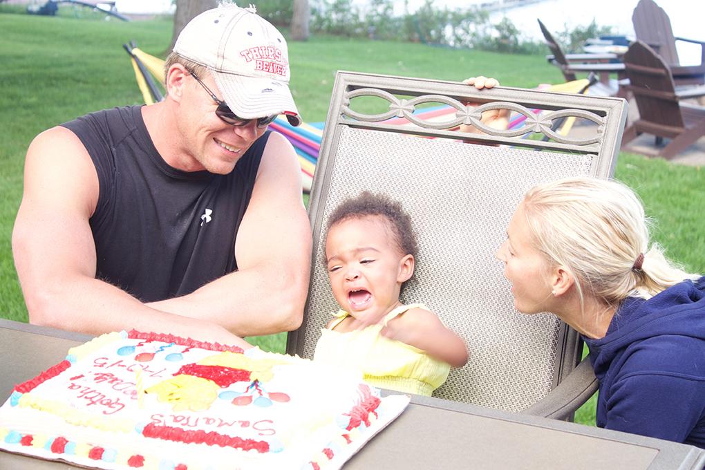 Adoption Finalized, So Now What? Gotcha Day Party Winnie the Poo Cake
