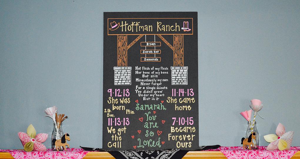 Adoption Finalized Now What? Hoffman Ranch Gotcha Day Party sarahkayhoffman.com