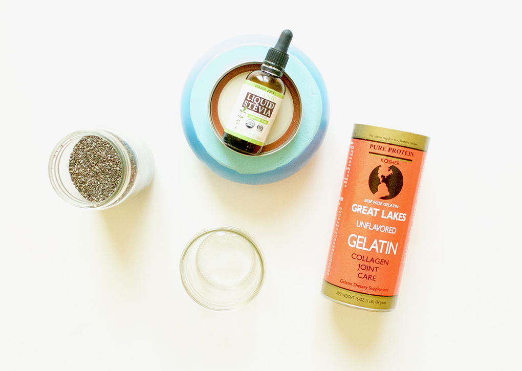 Nutiva Chia Seeds + Great Lakes Collagen Healthy Gut Chia Pudding sarahkayhoffman.com
