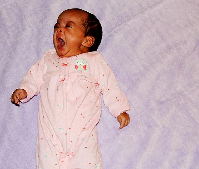 Challenging, but Here We Go Again Samarah yawning sarahkayhoffman.com