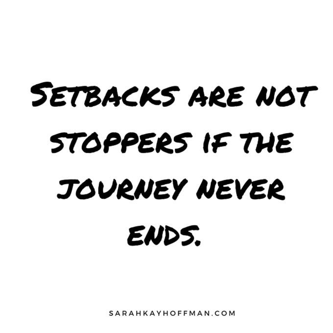 Spartan Training, Week 2 Setbacks are not stoppers if the journey never ends sarahkayhoffman.com