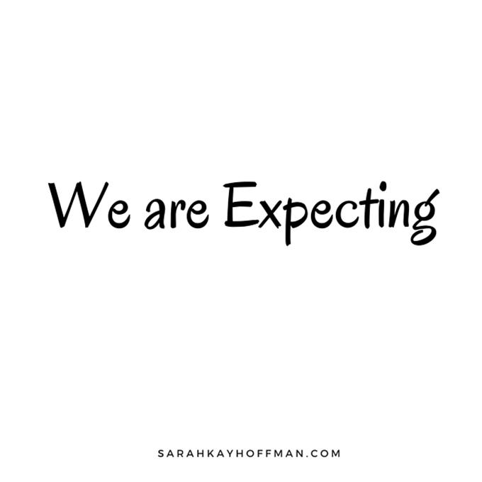 We are expecting sarahkayhoffman.com